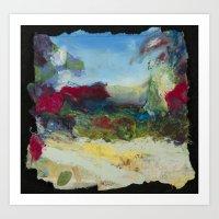 Paper Fields Art Print