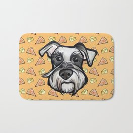 Peter loves pizza and cheese Bath Mat