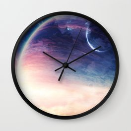 Jupiter rising Wall Clock