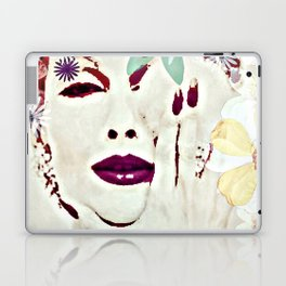SHE COMES IN COLORS Laptop & iPad Skin