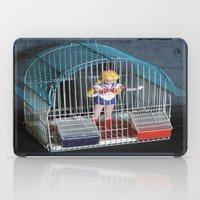 sailor venus iPad Cases featuring sailor  venus prigioniera by Francesco Mestria
