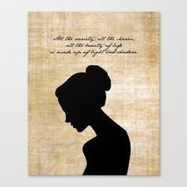 Anna Karenina - Leo Tolstoy Canvas Print