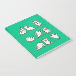 Pig Yoga Notebook