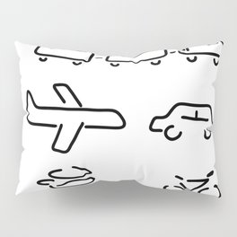 turn mobility travel Pillow Sham