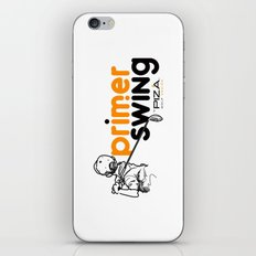 Primer Swing by Piza Golf Design iPhone & iPod Skin