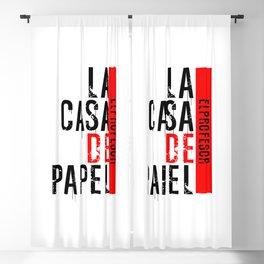 LA CASA DE PAPEL - EL PROFESOR Blackout Curtain