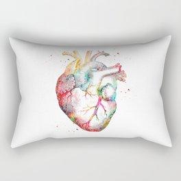 Human Heart Rectangular Pillow