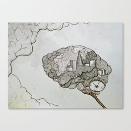 SF on the Mind Canvas Print
