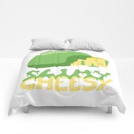Slimy cheesy Comforters