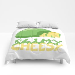 Slimy cheesy Comforters