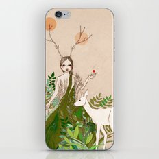Mori girl iPhone & iPod Skin