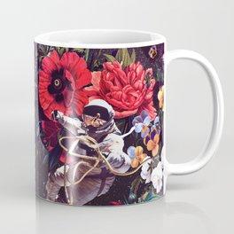 Flowers and Astronauts Coffee Mug