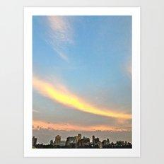 Brooklyn Sunset Art Print