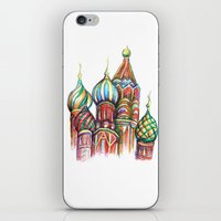 russia iPhone & iPod Skins featuring Russia by Lam Designs