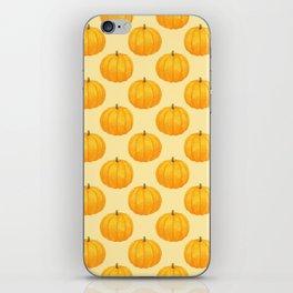 Orange Pumpkin iPhone Skin