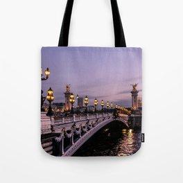 Nights in Paris Tote Bag