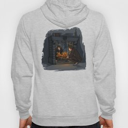 The Witch in the Fireplace Hoody