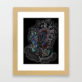 Music Head Framed Art Print