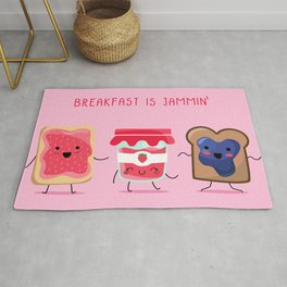 Breakfast Is Jammin' Rug