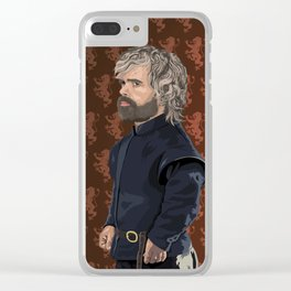 """""""Cripples, Bastards, and Broken Things"""" Clear iPhone Case"""