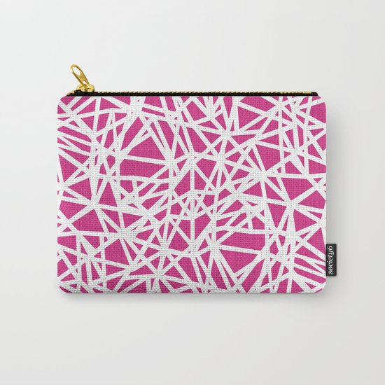 Ab Upside Down Pink Carry-All Pouch
