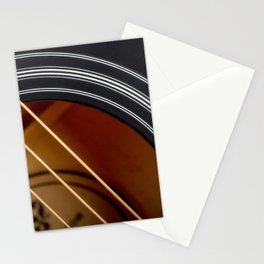 Guitar String Abstract 4 Stationery Cards