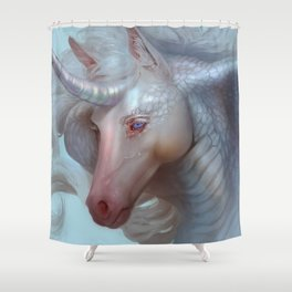 Unicorn Cobra Shower Curtain