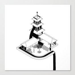 Zen Gardens Canvas Print