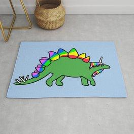 Stegocorn (Unicorn Stegosaurus) Rug