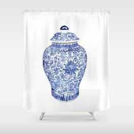 GINGER JAR No.1 Shower Curtain