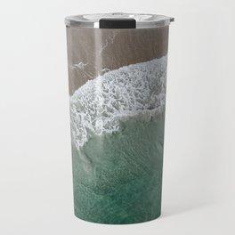 Wrightsville Beach Waves Travel Mug