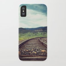 Travel Alone iPhone X Slim Case