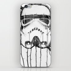 storm trooper iPhone & iPod Skin