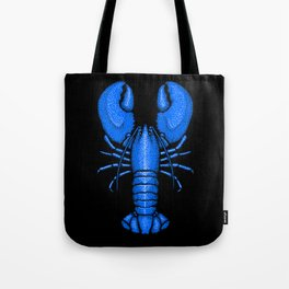 Divine Ascent of the Dominance Hierarchy Blue Lobster Tote Bag