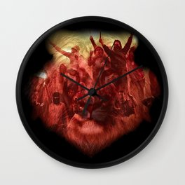 Ultras Lion Wall Clock