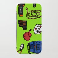 hiking iPhone & iPod Cases featuring Hiking by Jonny Penn