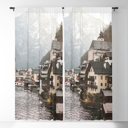 Austrian Village | OPEN WINDOW ART Blackout Curtain