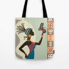 Afrocentric Chic I Tote Bag