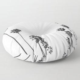 Palm Trees 8 Floor Pillow