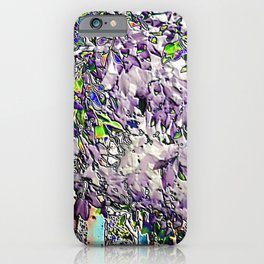 Emanating high vibrational violet energy iPhone Case