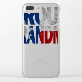 Grandma Design and Texas Design Grandma Design Texas Flag Design  Clear iPhone Case