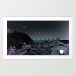 Night/ Light Art Print