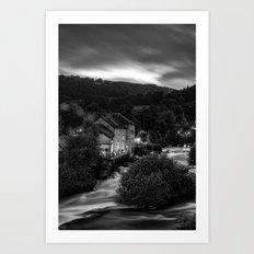 The corn mill Art Print