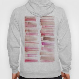 3 | 181101 Watercolour Palette Abstract Art | Lines | Stripes | Hoody