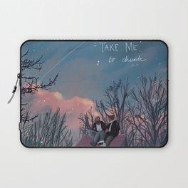SKAM / DRUCK - take me to church Laptop Sleeve