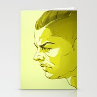 ronaldo Stationery Cards featuring Cristiano Ronaldo by nachodraws