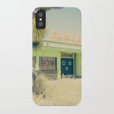Deserted Desert Diner iPhone X Slim Case