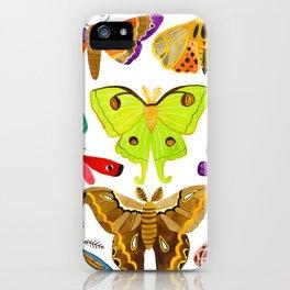 moths iPhone Case