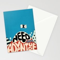 I Need An Adventure Stationery Cards