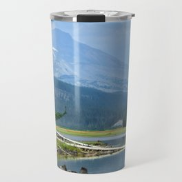 The Blue Cascade Lakes Travel Mug